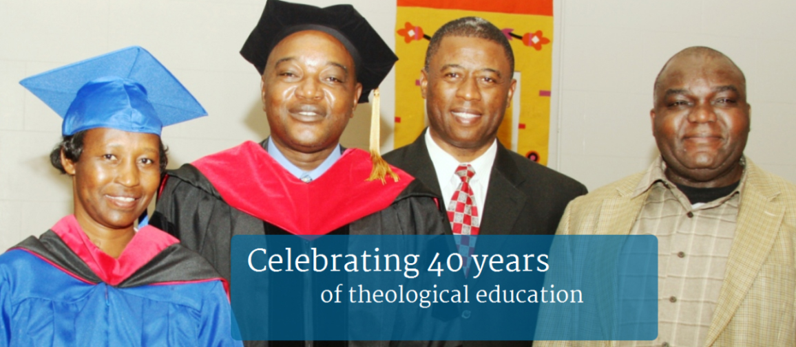 celebrating 40 years of theological education
