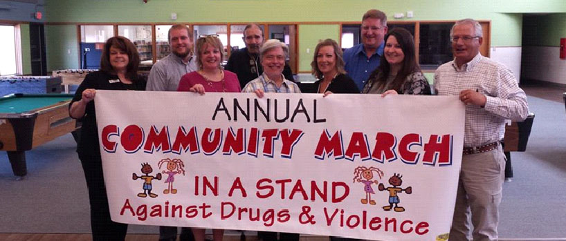 21st Annual March Against Drugs and Violence 2 banner