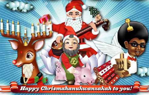 Chrismahanukwanzakah: The World's First Global Holiday