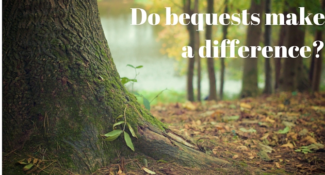 do bequests make a difference