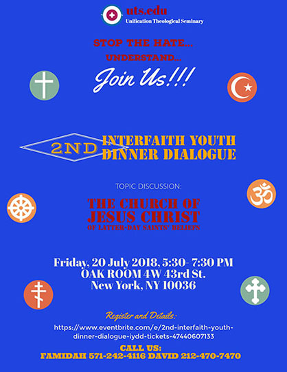 Interfaith Youth Dinner Dialogue flyer3