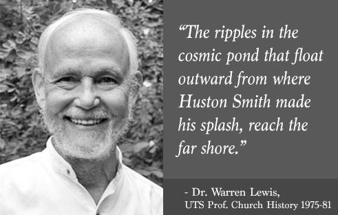 Remembering Prof. Huston Smith (1919-2016)