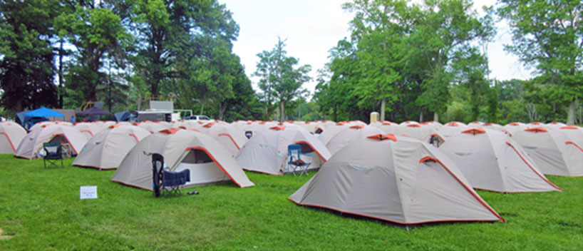 busy august tents