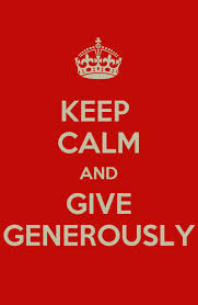 give-generously