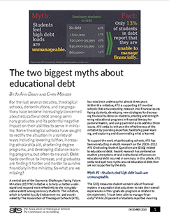 two biggest myths about educational debt