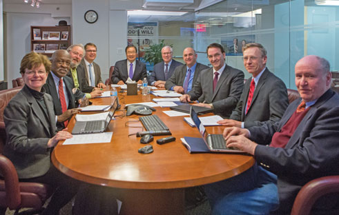 UTS Board of Trustees Meets in NYC